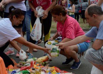 Rio de Janeiro - ONG Ação da Cidadania lança campanha Natal Sem Fome no Aterro do Flamengo, zona sul da capital fluminense (Tomaz Silva/Agência Brasil)