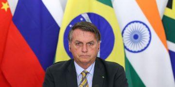 (Brasília - DF, 17/11/2020) Presidente da República Jair Bolsonaro, durante reunião da XII Cúpula de Líderes do BRICS (videoconferência). Foto: Marcos Corrêa/PR