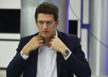 29/07/2020. Crédito: Marcelo Ferreira/CB/D.A Press. Brasil. Brasília - DF. Entrevista do Ministro do Ambiente Ricardo Salles para o CB.Poder.